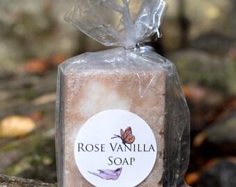 Rose and Vanilla Soap