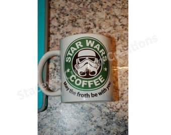 Star Wars May the Froth Be With You Coffee Mug