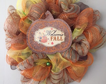 Thanksgiving / Fall Wreath