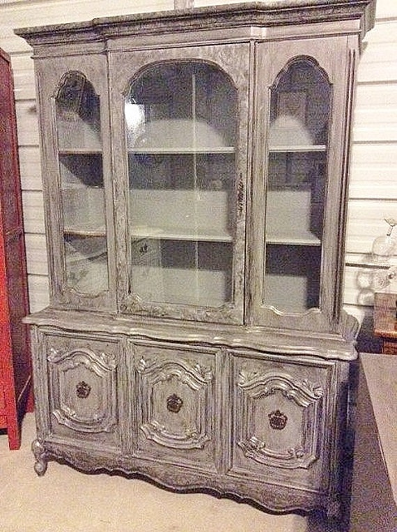 Items Similar To Bassett French Provincial China Cabinet W