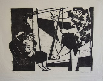 Limited Edition Woodcut - Hand signed and numbered