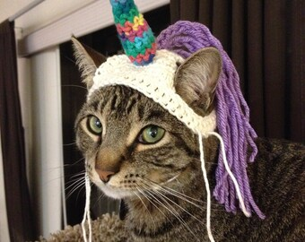 Mystical Unicorn Cat Hat