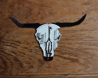 SALE Longhorn Skull Cutout