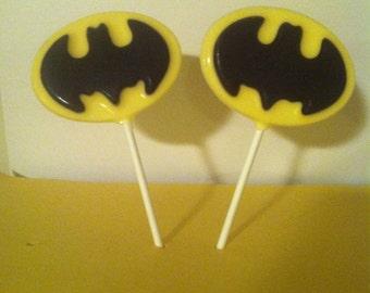 20 Batman Lollipop Favors