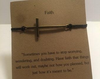 Faith Wish Bracelet.