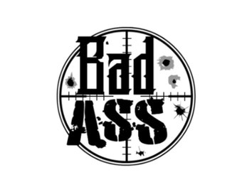 Bad Ass Temporary Tattoos (set of 2) - WOD Ready - Fitness Tattoo - Motivation Gift - Fitness Gift - Music Festival Accessories