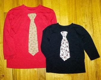 Boys christmas tie shirt, toddler christmas tie shirt, Santa tie shirt, gingerbread tie shirt, boy christmas gift, holiday tie shirt, santa