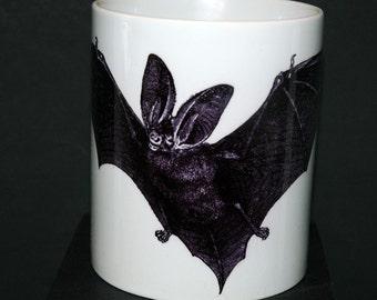 Bat Printed Ceramic Coffee Mug 11oz and 15oz size