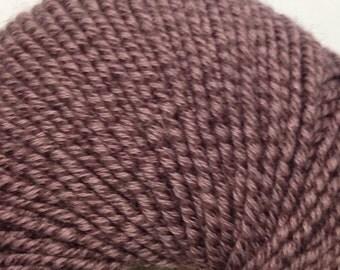 Classic Elite Chesapeake organic cotton/wool blend worsted weight yarn (5995 Rosetti Purple)
