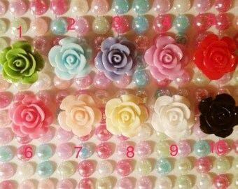 Little rose 3pcs