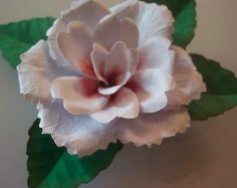 One paper Gardenia refrigerator magnet