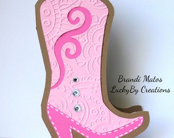 Cowgirl Birthday Invitations, Set of 8 Cowgirl Invitations, Birthday Invitations, Bridal Shower Invitations, Cowboy, party, Country Western!