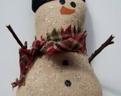 Snowman Collectible Country Christmas Ornament
