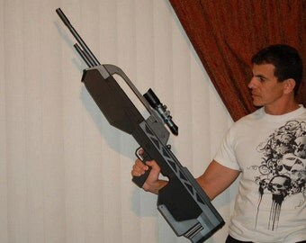 Halo Rifle - Full resin cast and paint
