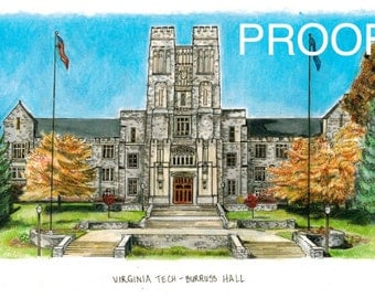 Virginia Tech - Burruss Hall AVAILABLE NOV 1, 2014