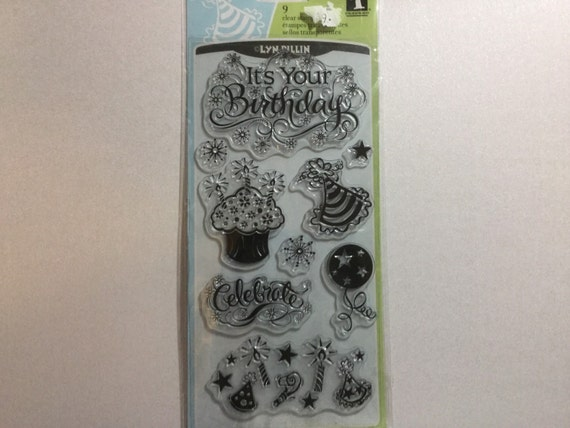 Inkadinkado It's Your Birthday stamp set