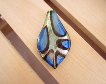 Venetian glass pendant, glass pendant, glass jewellery, Chrsitmas gift ideas