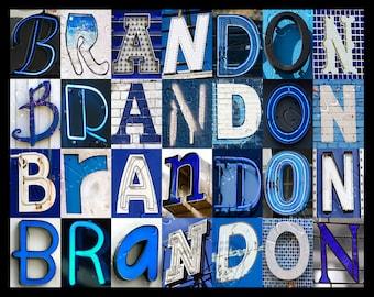 Brandon Name Etsy
