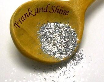Silver Metallic Solvent Resistant Glitter .015