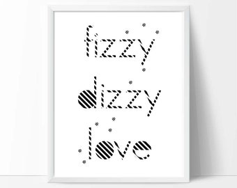 Digital Poster art,Typographic print, romantic print, printable wall art, downloadable prints, quote, word art, love, poster