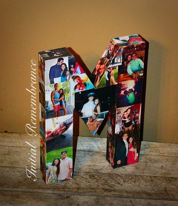 3D Picture Frame Photo Letter Collage Gift By