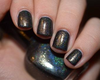 Aerials - flake holo indie nail polish (11ml)