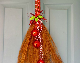 Christmas Bells, Christmas Decoration, Christmas Swag, Holiday Decoration, Ornament Décor, Cinnamon Scented, Home Décor