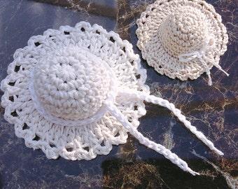 Crochet Mini Hat Pattern, Digital Download, Pdf Pattern