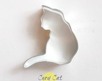 Cozy Cat Cookie Cutter | Cat Cookie Cutter | Kitten Cookie Cutter| Kitty Cookie Cutter