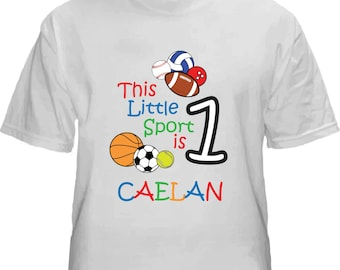 Children's bday shirts