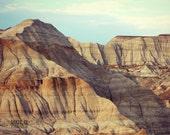 Desert Photography, Nature Art Print, Desert Landscape, Boho Chic Decor, Wilderness Art, Canada Photography, Minimalist Poster