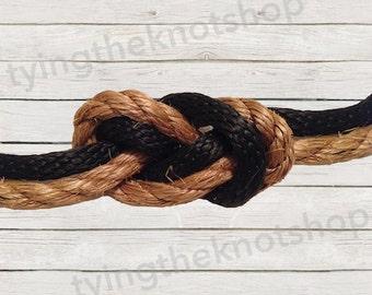 Tying the Knot Wedding Ceremony Kit, Infinity Knot, Nautical Wedding, Alternative Wedding Ceremony, Beach Wedding Ceremony, Patent Pending