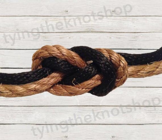 tying the knot wedding ceremony kit infinity knot nautical