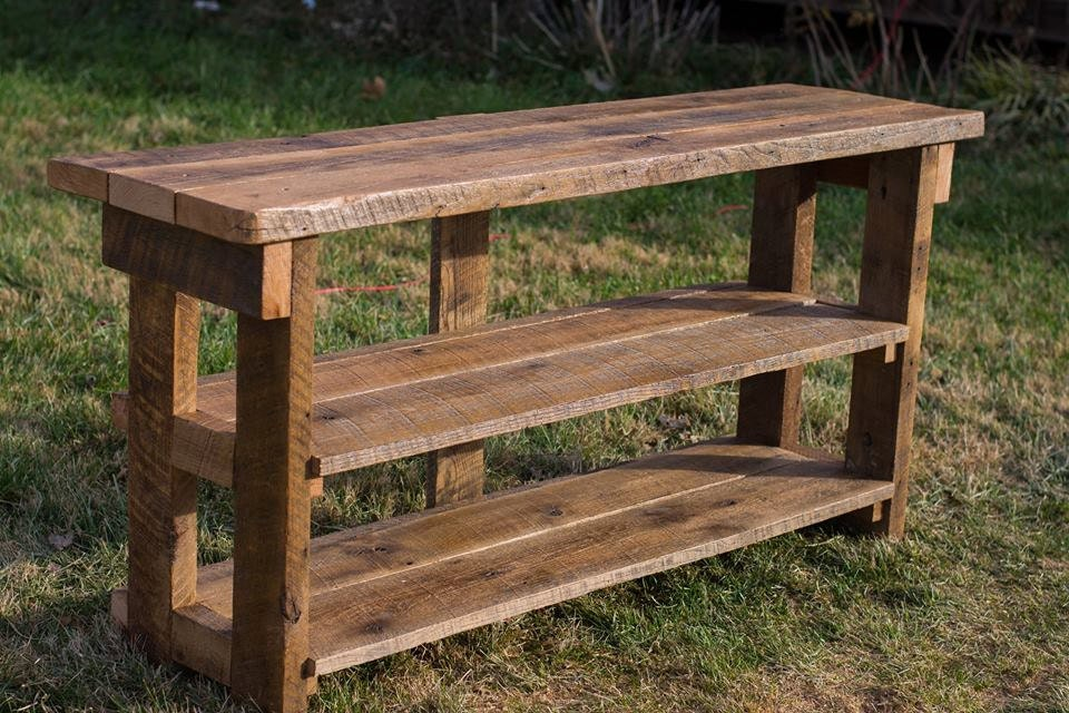 ... Reclaimed Wood TV Stand. Made From Reclaimed Barn and Fence Wood. 🔎zoom - Reclaimed Wood TV Stand. Made From Reclaimed Barn And Fence