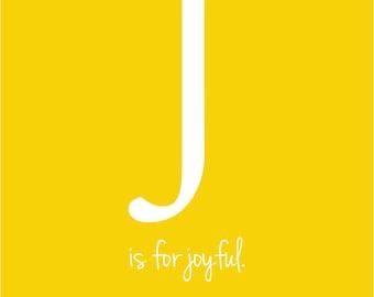 J - Initial Print