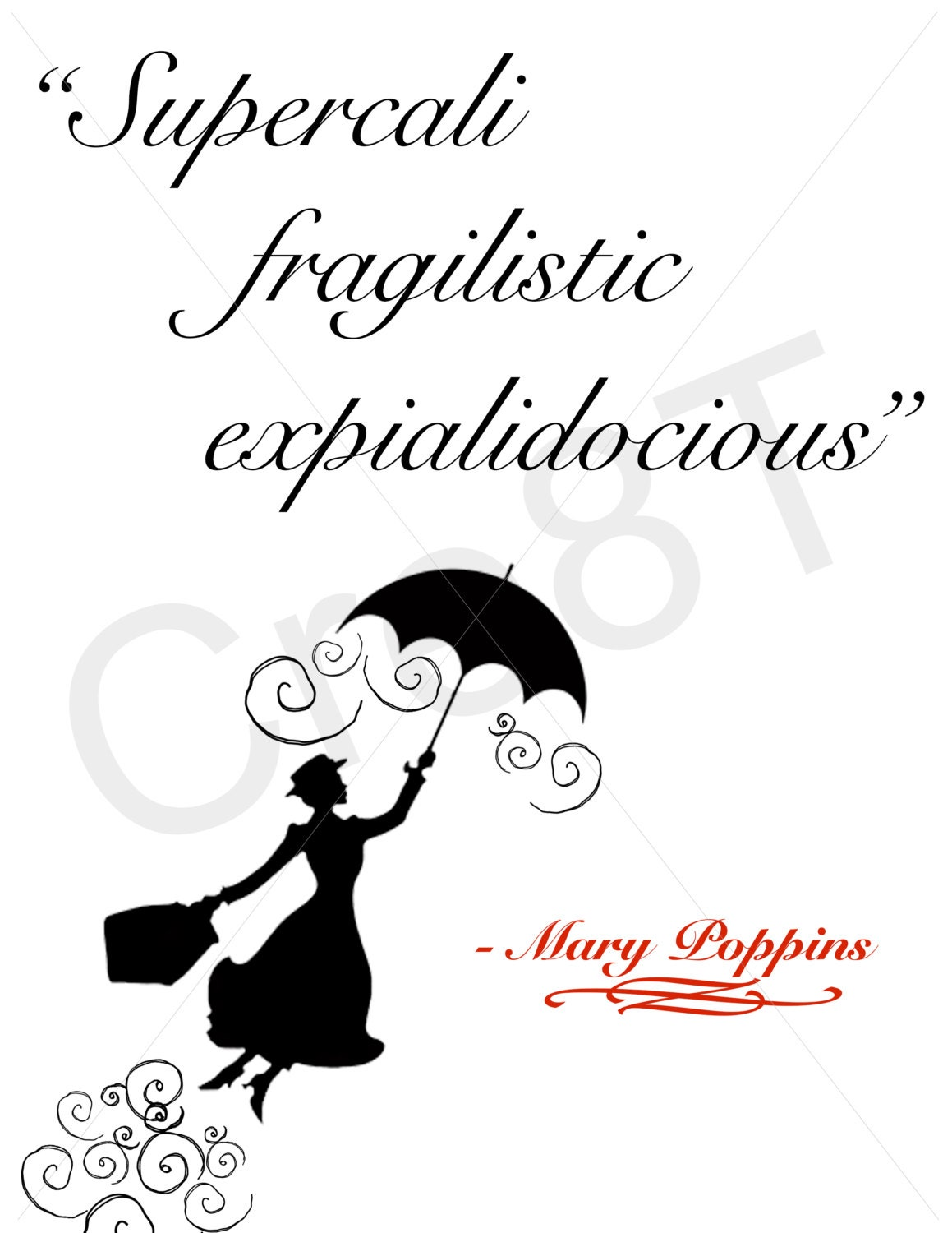 Mary Poppins Quote