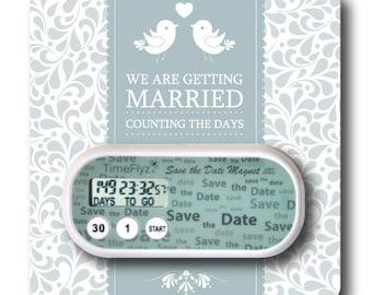 Items similar to wedding day countdown clock on etsy - Royal caribbean cruise countdown clock for desktop ...
