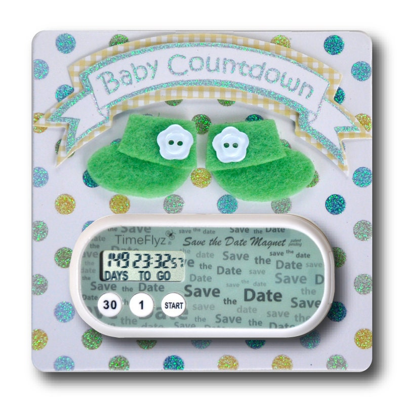 Baby due date countdown in Perth