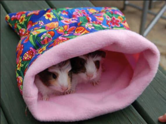 Guinea pig sleeping bag by LittlePiggiesMarket on Etsy