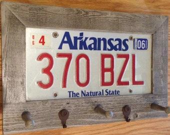 Key Holder License Plate Key Holder Key Hanger By