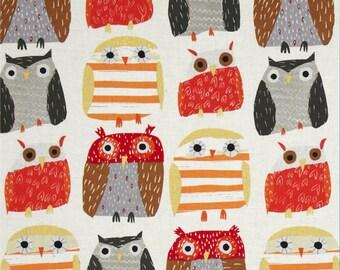 Dear Stella Woodwinked Owls Bone (Half metre)