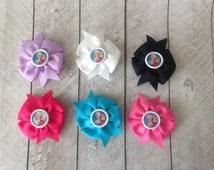 "Wholesale 3"" Pinwheel bows 5, 10 , 20 quantity - you choose the colors or receive a grab bag"