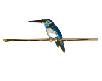 King Fisher Tie Pin