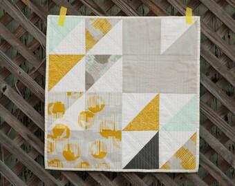Fresh Starts II : Modern Wall Quilt
