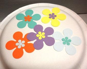25 Scrapbook  Flowers-Die Cuts, Scrapbook Supplies, Flowers, Craft Supplies, Supplies-DCF-44