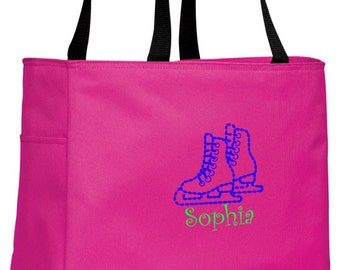 Personalized Skate Tropical Pink Essential Tote with FREE Personalization & FREE SHIPPING    B0750
