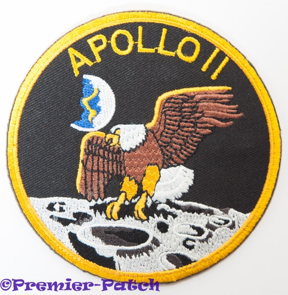 Nasa Apollo 11 Iron on Patch / 4 Collectors Badge by ...