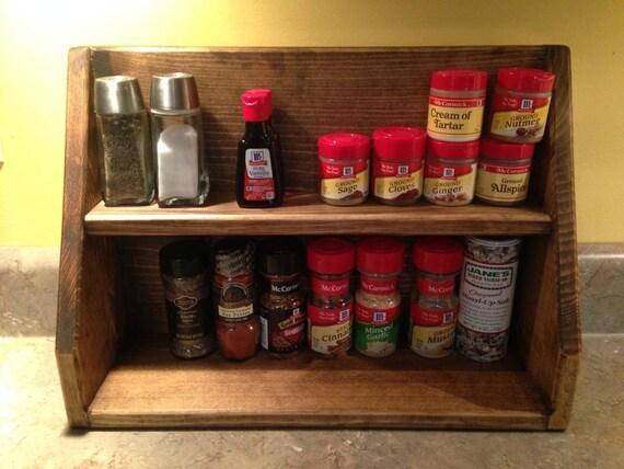 ... wooden freestanding spice rack, Freestanding primitive countertop