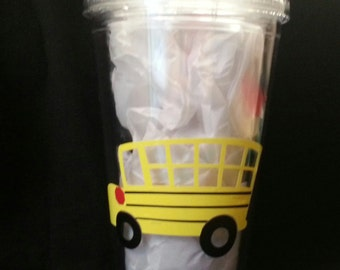 16oz Double Walled Personalized Bus Driver Cup