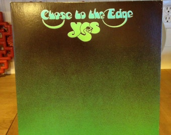 Yes Close To The Edge Record Album 1977 Reissue # SD 19133